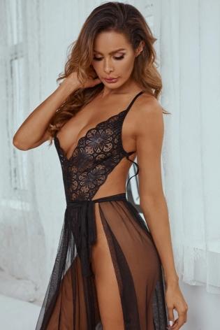 Julia nuisette sexy noir