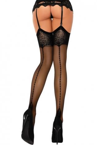 Collants noirs Ballerina 410
