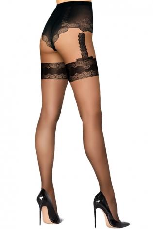 Collants noirs Ballerina 048