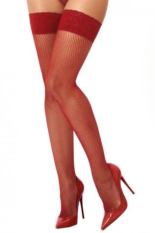 Body string noir maille transparente