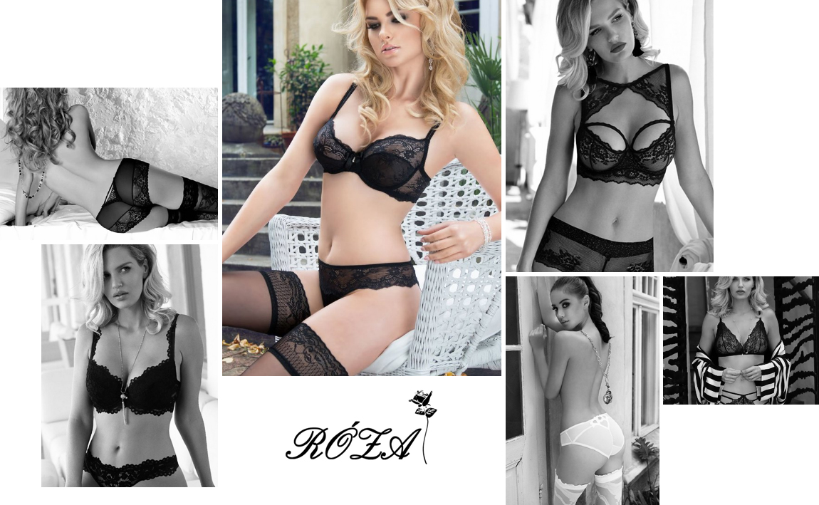 Roza lingerie sexy chic