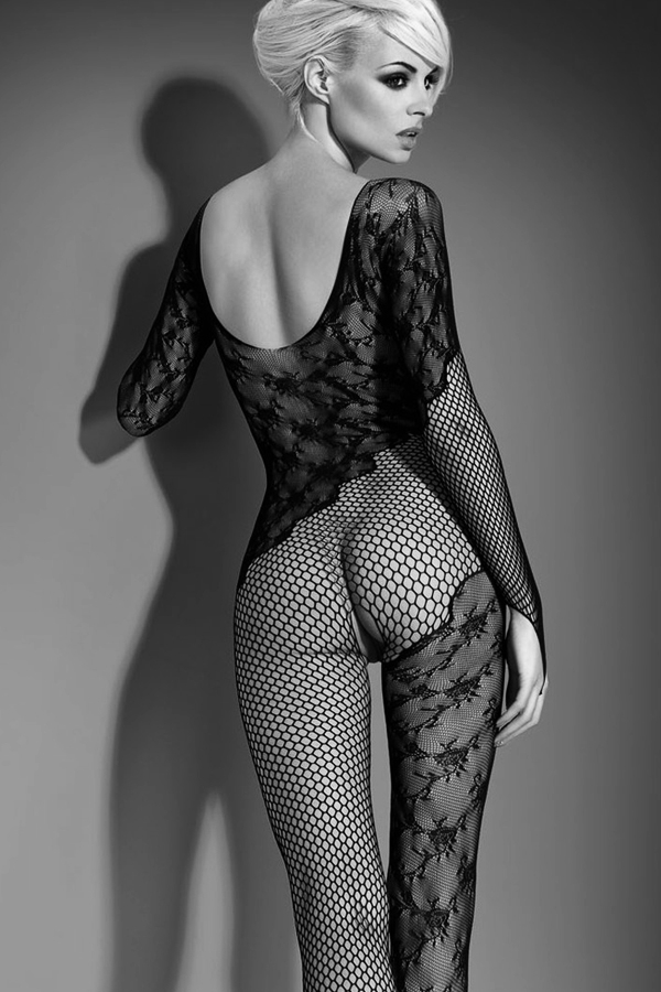 Bodystocking noir sexy F210