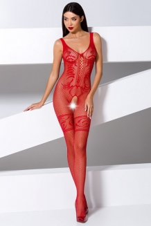 Bodystocking rouge BS069