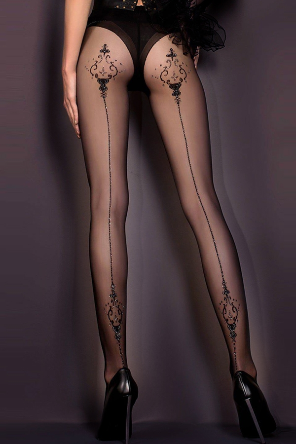 Collants noirs Ballerina 410