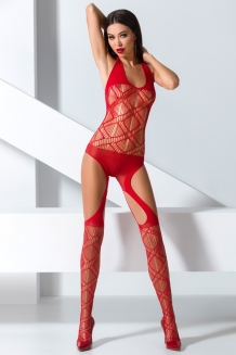 Bodystocking rouge BS060