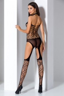 Bodystocking noir BS060