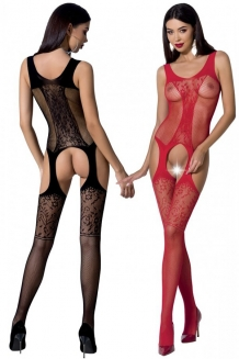Bodystocking noir ou rouge BS072