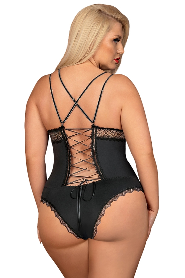 Body sexy noir size plus