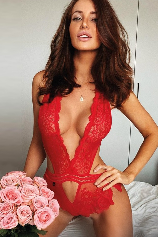 Body sexy rouge