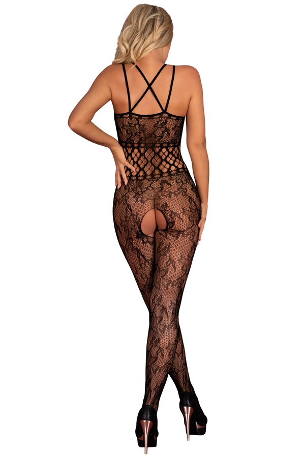 Bodystocking noir sexy