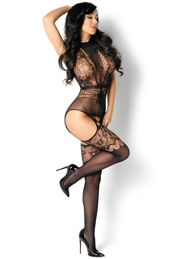 Reina bodystocking resille