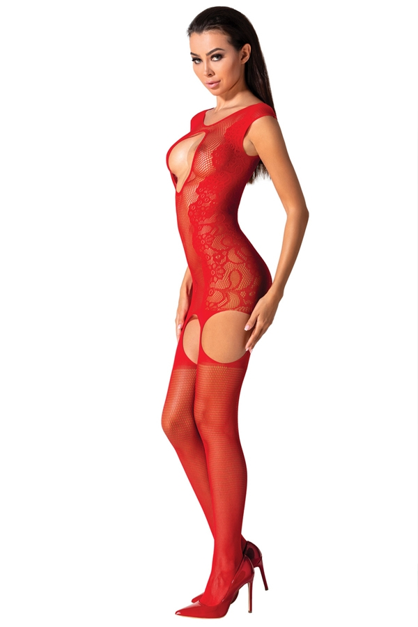 Bodystocking rouge BS082