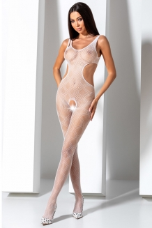 Bodystocking blanc BS085