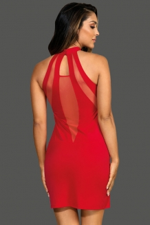 Robe sexy rouge