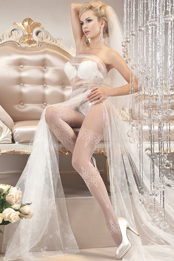Collant glamour spécial mariage 108