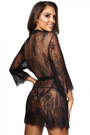 Set bleu sexy mapale lingerie