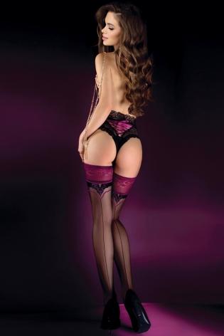 Caches-tétons plumes noir