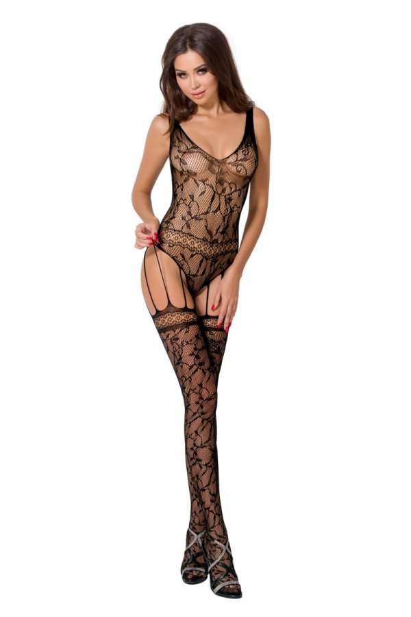 Bodystocking noir BS051