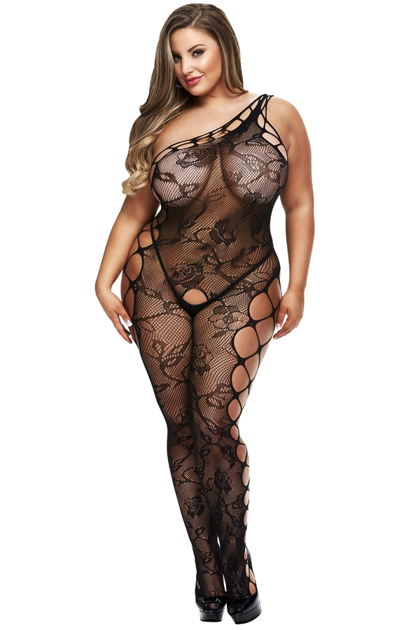 Bodystocking sexy Baci lingerie grande taille