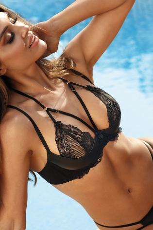 Robe longue sexy noire