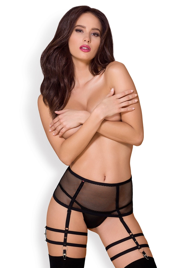Garter belt et string