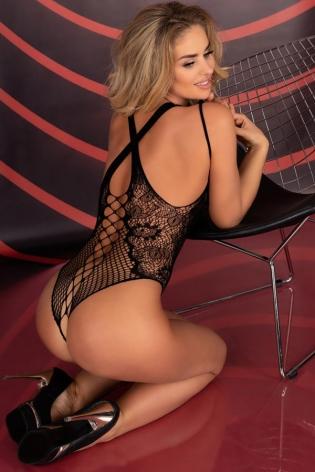Peignoir Mapalé lingerie noir