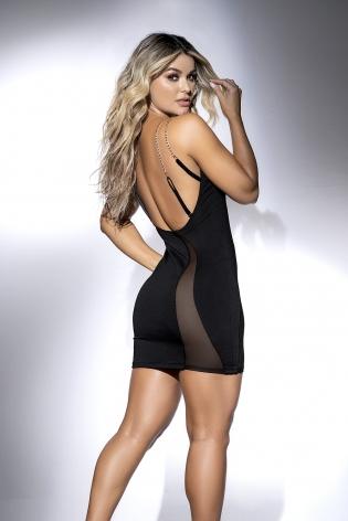 Body sexy Bravuro effet cuir