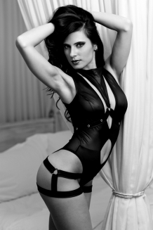 Bodysuit harness black