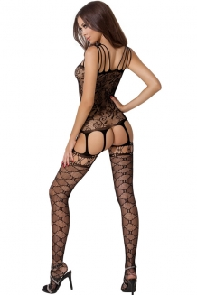 Bodystocking noir BS054